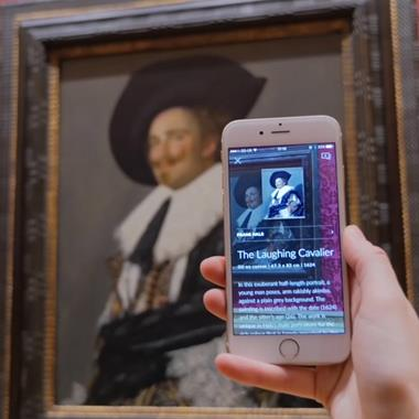 """New app Smartify functions as """"a Shazam for the art world"""""""