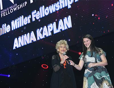 Natalie Miller Fellowship Recipient Anna Kaplan