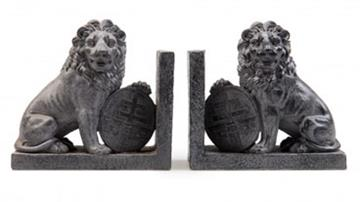 Bookends: Menin Gate lions
